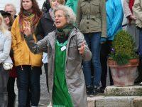 Ingrid Hvass har været Fortælle Galleriets leder igennem alle årene. Pressefoto.