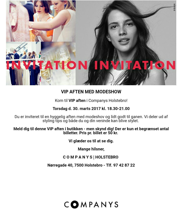 a9ef706df6b VIP aften med modeshow – Dit Holstebro
