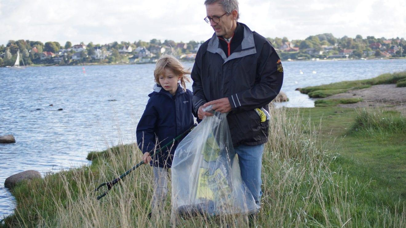 Affaldsindsamlingen: Se hvor meget affald der blev samlet i din kommune