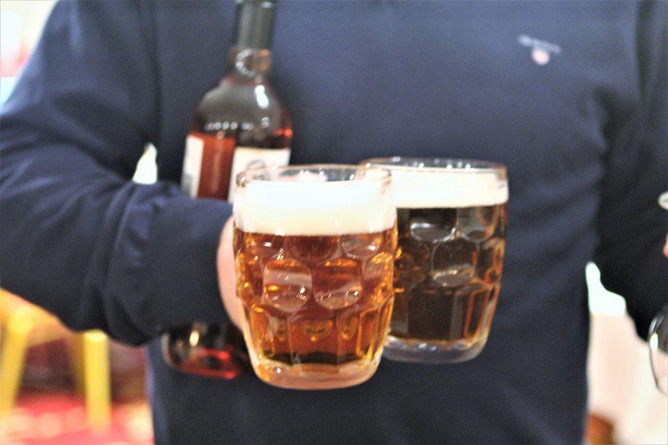 Drengerøvsdag på Irish Pub