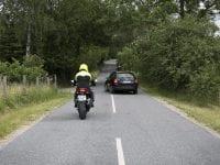 Typisk ulykkessituation, foto: RfST