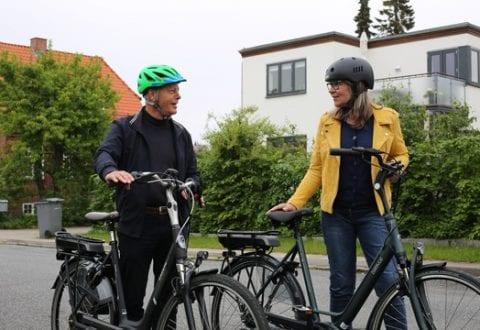 Ældre og cykelulykker, foto: RfST