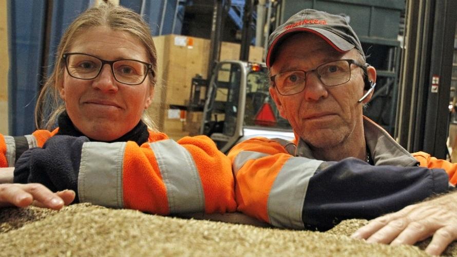 Louise og Poul undgår fyring i vinter