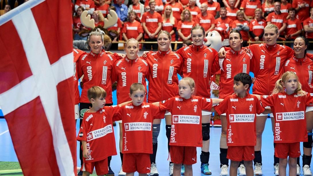 Danmarks kvindelandshold spiller to kampe mod Brasilien i Holstebro og Nykøbing Mors i slutningen af marts