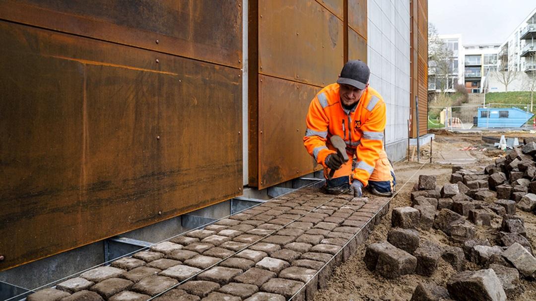 Stort anlægsarbejde ved den nye biograf i Enghaven starter