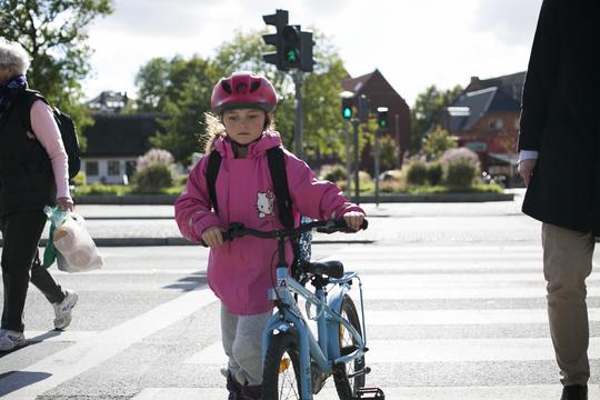 Vis hensyn - sænk farten på skolevejene