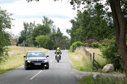 Flest dræbte motorcyklister i 10 år