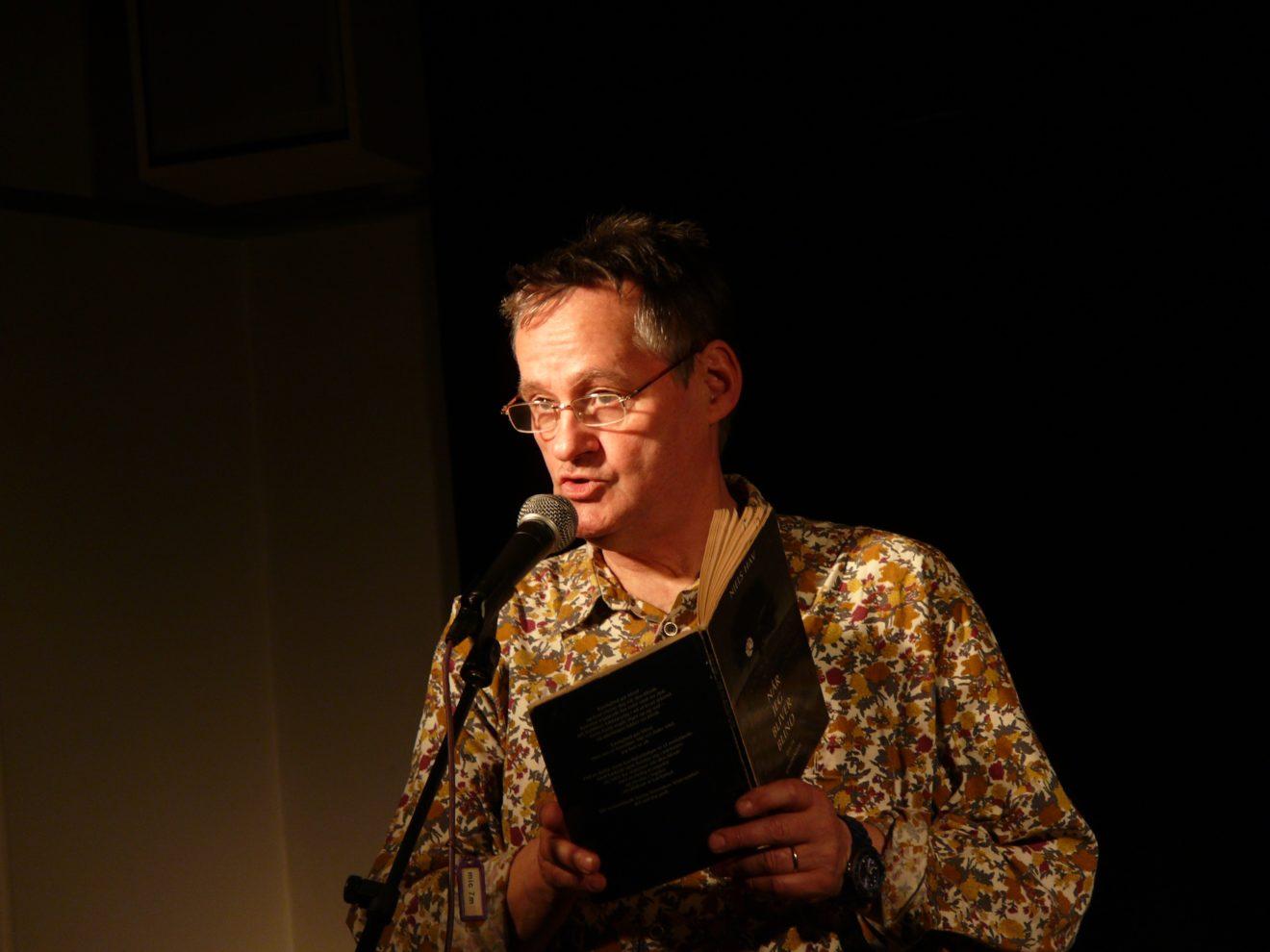 Niels Hav er september måneds digter på Poesi på en torsdag