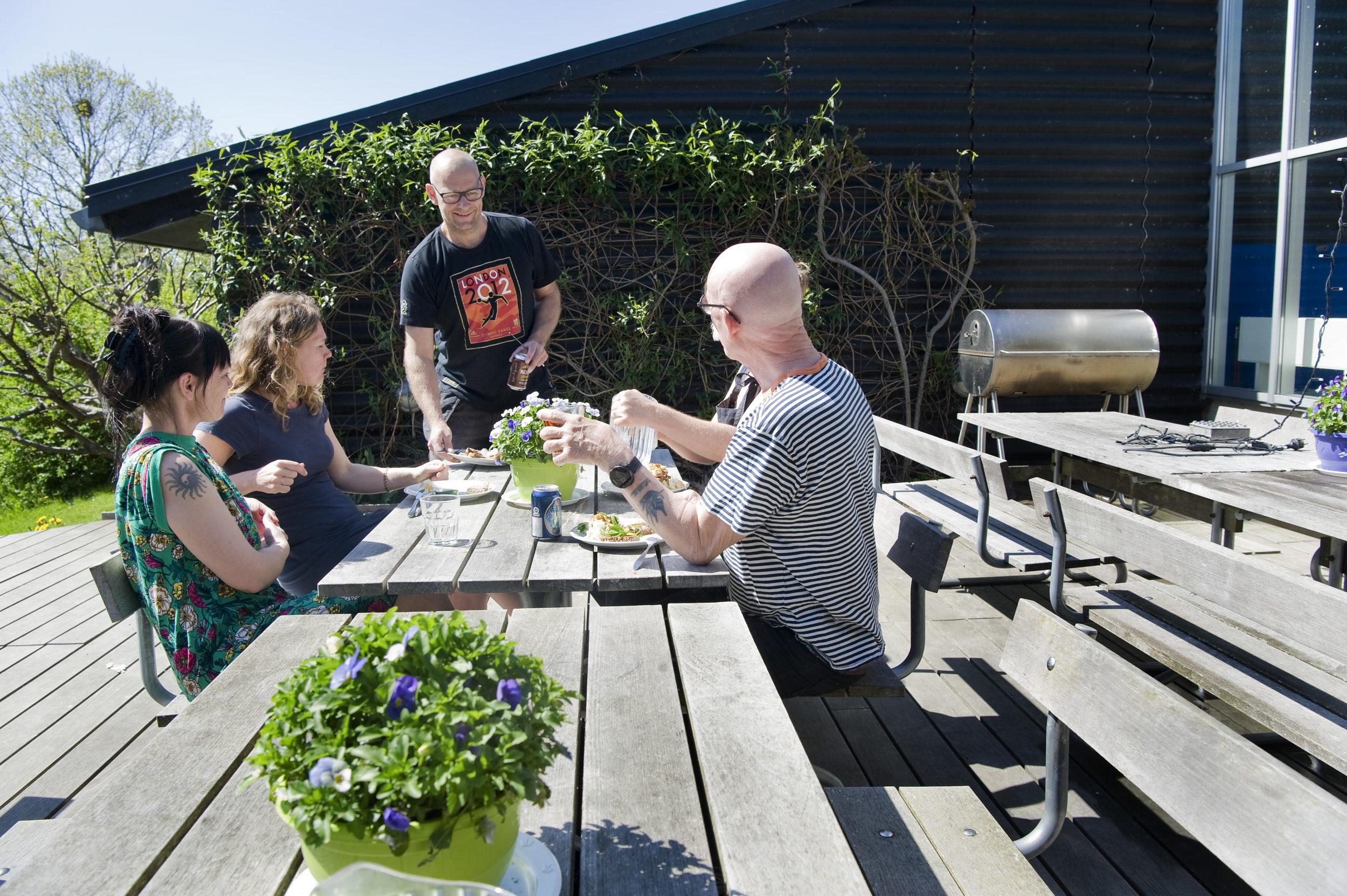 Danskerne er trygge når naboskabet er godt