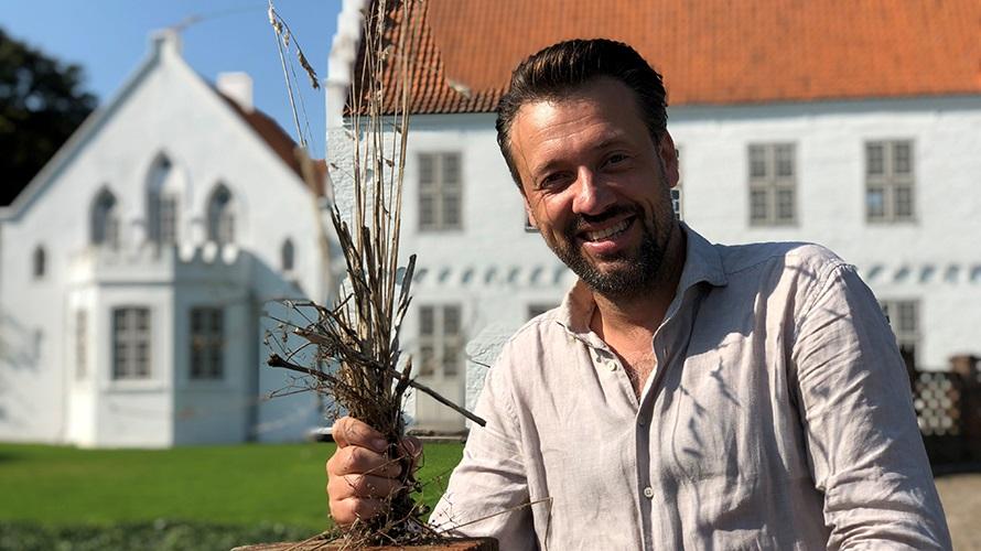 Blomsterjul på Nørre Vosborg