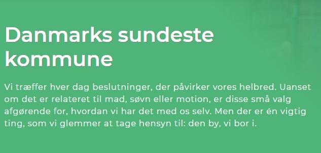 Danmarks Sundeste Kommune - Arono lancerer ny digital data platform