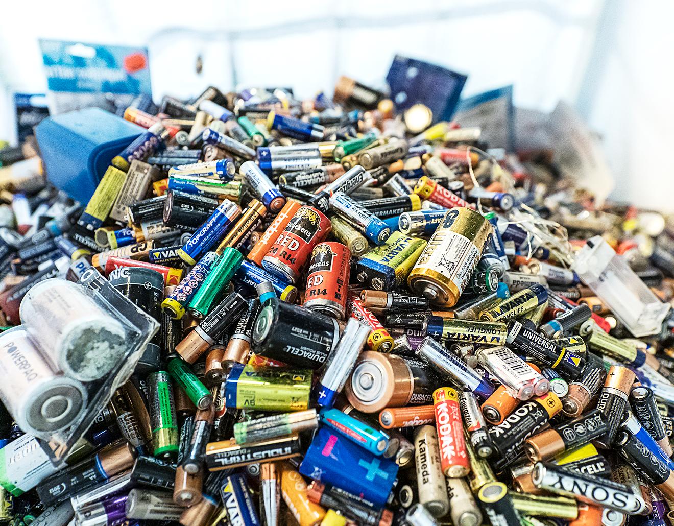 Genanvendelse af batterier: Holstebro ligger over landsgennemsnittet